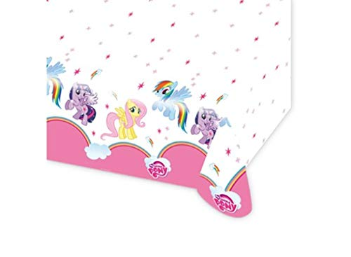 Amscan International 1,2 x 1,8 m My Little Pony Kunststoff-Tischdecken