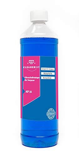 Die Seifenblase 1 Liter Ultraschallreiniger für Vergaser Konzentrat für alle Mikuni-, Keihin-, Hitachi- und Teikei-Vergaser HD-Gerät