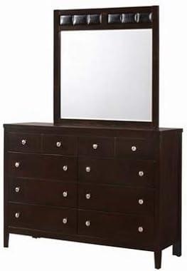 Ranking TOP19 Giantex Wood Dresser Chest 10 Indefinitely Drawers Mirror W Furnitur Standard