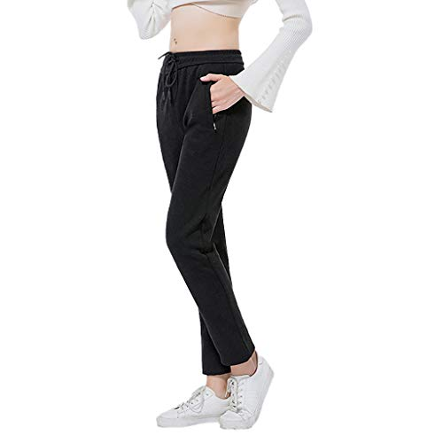 Great Deal! Dainzuy Heated Pants for Men Women, Washable USB Intelligent Thermostat Knee Warm Trouse...