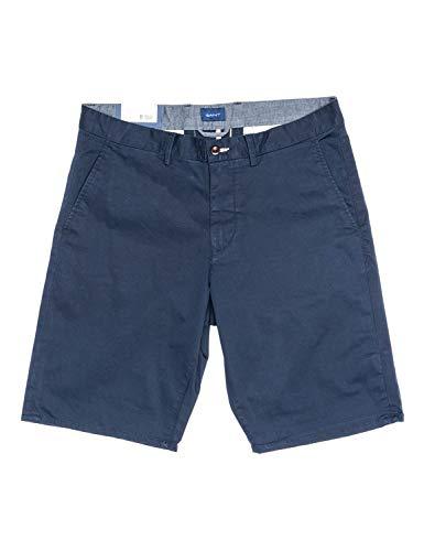 GANT D1. Relaxed Twill Shorts Pantaloncini, Marine, 42 Uomo