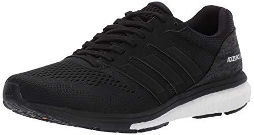 adidas Women's Adizero Boston 7, black/white/carbon, 7 M US