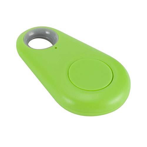 Cuifati Mini localizador de Mascotas con Bluetooth4.0 Ligero y antipérdida, Dentro de una Distancia de Trabajo de 25 m(Green)