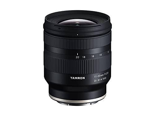 Tamron 11-20 mm F/2.8 Di III-A RXD, obiettivo per Sony E-Mount (APS-C)