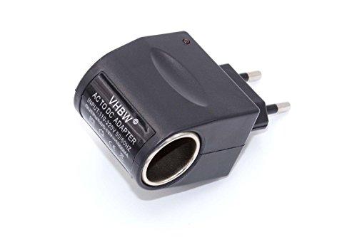 vhbw Adaptateur Allume-Cigare 12V vers 220V, convertisseur de Tension 1000mA pour GPS, système de Navigation, Chargeur