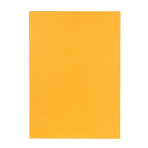 Preisvergleich Produktbild Original Falken 100er Pack Aktendeckel. Made in Germany. Aus Recycling-Karton für DIN A4 gelb Blauer Engel Hefter ideal für das Büro und Schule und die mobile Organisation