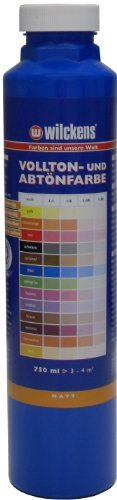 Wilckens Vollton- & Abtönfarbe Blau 750 ml