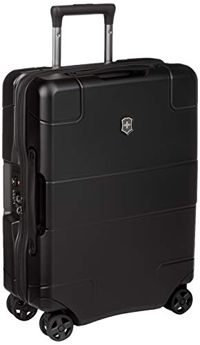 Victorinox Lexicon Hardside Expandable Spinner Luggage, Black, Carry-On-Global (21')