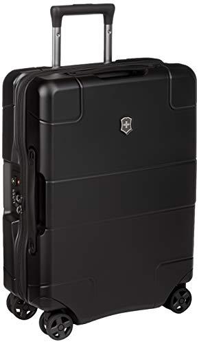 Victorinox Lexicon Hardside Global Carry-On - Handgepäckkoffer mit USB-Port Trolley 20x40x55 - Schwarz