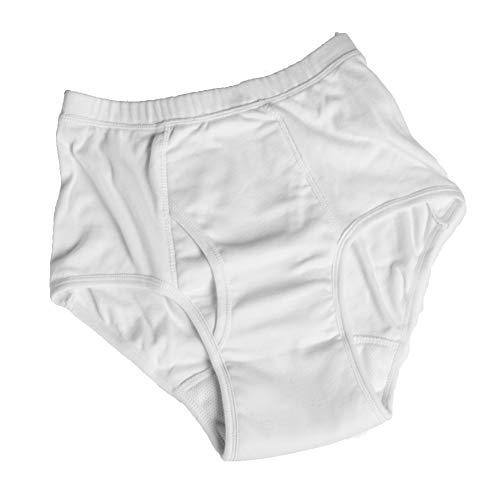 Q&M wasbaar incontinentie ondergoed voor mannen en ondergoed zwaar verlies (medium)