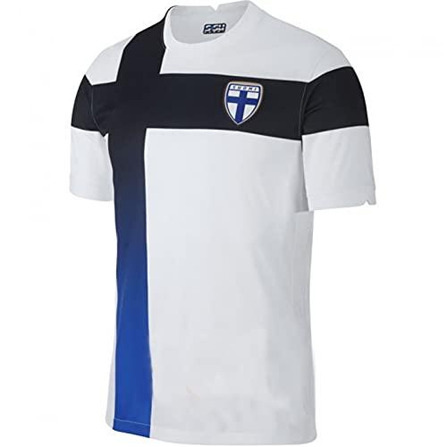 Backboards 2021 European Cup Jerseys,Finland Camiseta Primera Segunda Equipación,Hombre Camiseta de Manga...