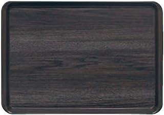 蝶プラ工業 トレイ 耐熱PP長角トレイ(小) ウッドグレイン 356×247×17mm PP樹脂 ETL4901