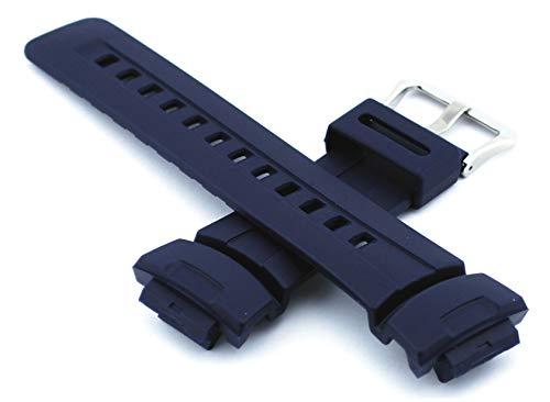Casio Ersatz-Gurt für G Schock Watch Modell G-100–2B, G-2310–2V, G-2400–2V, G-100–2BV