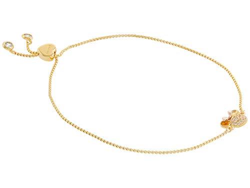 Kate Spade New York Minnie Pave Slider Bracelet Clear Multi One Size