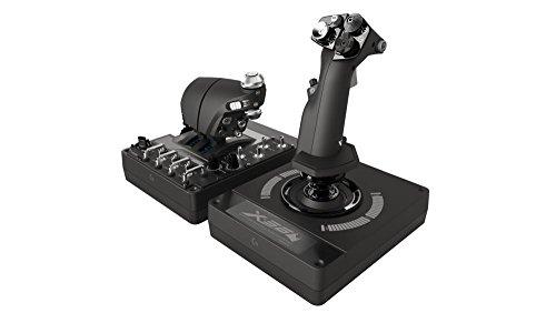 Logitech X56 HOTAS - Controlador con aceleración y palanca RGB