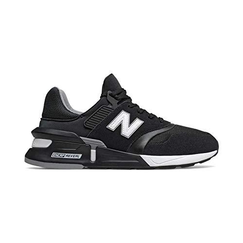 New Balance de los Hombres Deportivas 997, Negro