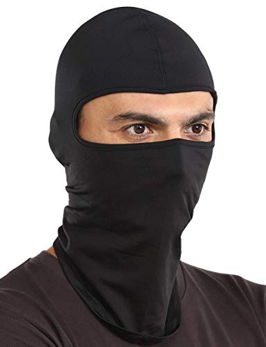 Balaclava Ski Mask - Cold Weather Face Mask for Men & Women - Windproof Hood Snow Gear for Skiing, Snowboarding, Motorcycle Riding & Winter Sports. Fits Under Helmets
