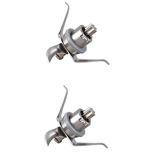 Binchil Cuchilla mezcladora de 2 piezas para Vorwerk Thermomix TM21 TM 21 - Cuchilla mezcladora con sello, repuesto ultra afilada