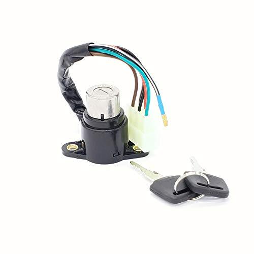 LIUYE Motorbike Ignition Switch With Wire For Honda CB125 CB400 CB400T CB450T CM400 CM450 (2 keys)#35100-413-007