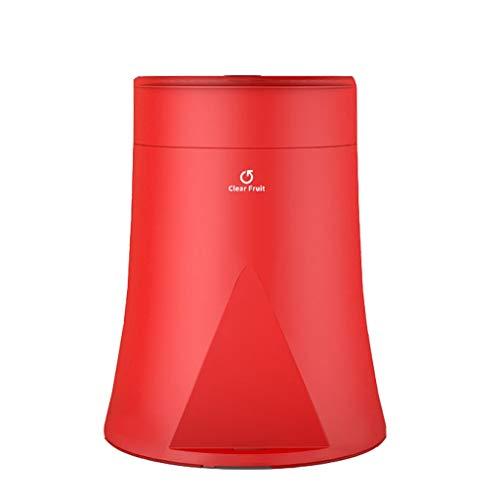 Grote creatieve vulkaan styling automatische omschakeling zak Classified vuilnisbak met deksel Office Household Badkamer Keuken Woonkamer bak van het huisvuil Papieropvang (Color : Red)