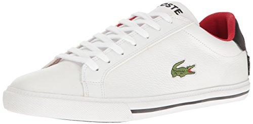 Lacoste Men's Grad Vulc TS Casual Shoe Fashion Sneaker, White/black, 8 M US