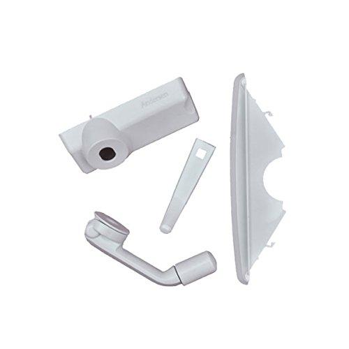 Andersen Casement Window - 200/400 Series - Hardware Pack - Folding Contemporary - White - 1361561 by Andersen Windows