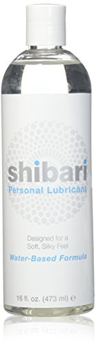 Shibari Intimate Lubricant, Water Based, for Women's Soft Skin, 16oz Bottle