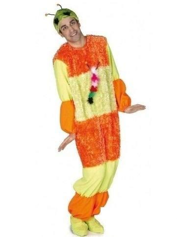 El Rey del Carnaval Disfraz de Gusanito - Unisex, L