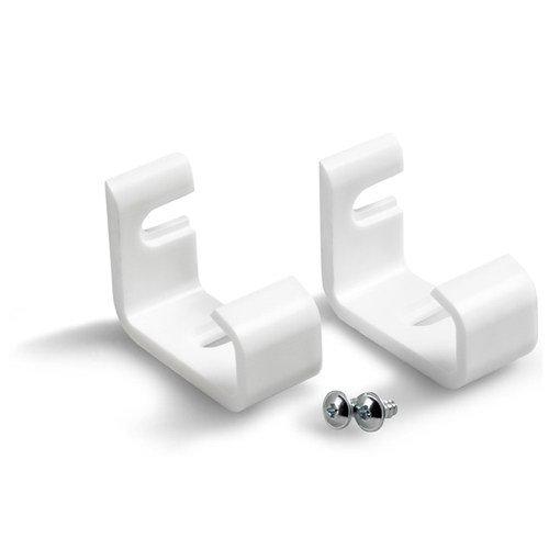 INTERDECO Jalousie Klemmträger für Jalousien mit Pendelsicherung in Weiß (2 Stück)