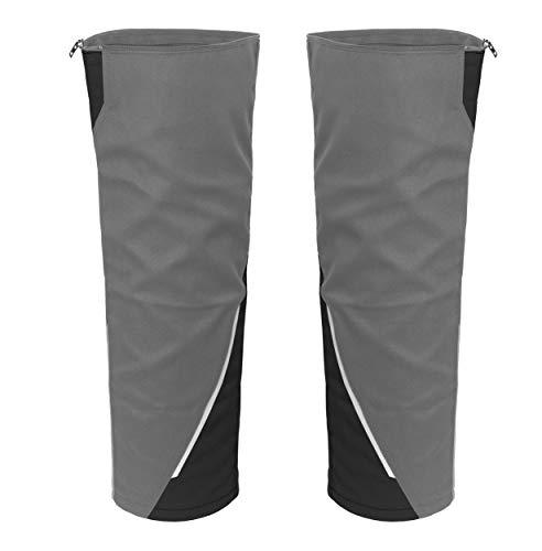 Grizzlyskin Beinverlängerung für Arbeitsshorts Iron Grau/Schwarz 42-44 -Workwear Beinling für Kurze Arbeitshose, Cargo Shorts Wird zu 3/4 Bermuda