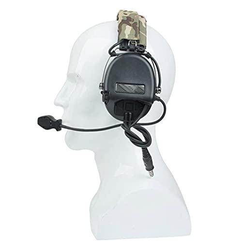 WorldShopping4U Outdoor-Radio Z-Tactical Z111 Sordin Stil Lärm Stornierung Ptt Wargame Jagd Headset (Black)