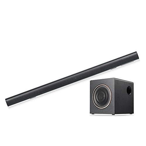 100Watt Bluetooth Sound Bar, TV Soundbar with Built-in Subwoofer 36Inch 3 Drivers Remote Control