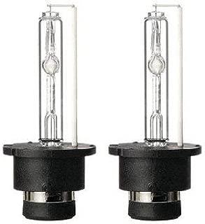 Lumenon HID Xenon Conversion Headlight Replacement Bulbs 1 pair (D2 D2S D2R D2C, 6000k Diamond White)