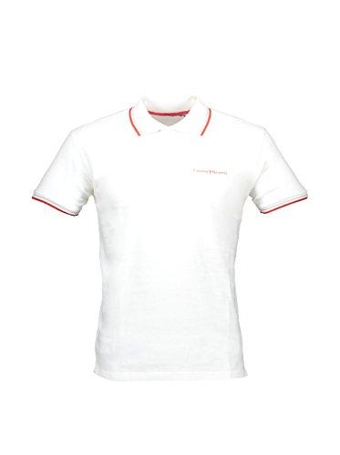 Cesare Paciotti CP13PS Polo, Bianco, Small (Taglia Produttore:S) Uomo