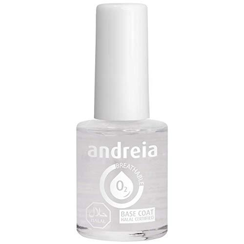 Andreia Halal Breathable Base Coat - Wasserdurchlässig - Schattierungen von klarem | 10.5 ml