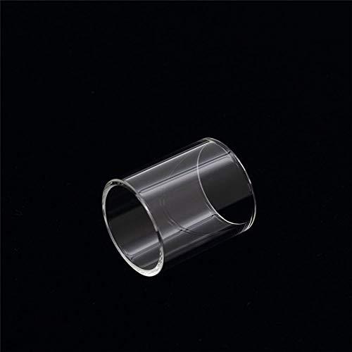 Without brand 4 ml Ersatz Pyrex Glasrohr gepasst for Kanger Obertank Mini-Behälter gepasst for TopBox Mini/Fit for SUBVOD Mega TC Kit (Farbe : Klar)