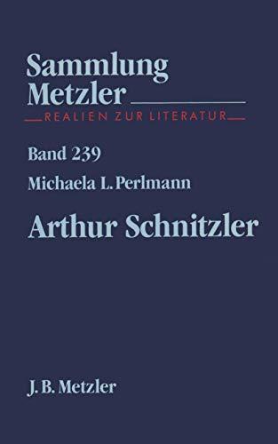 Arthur Schnitzler (Sammlung Metzler)