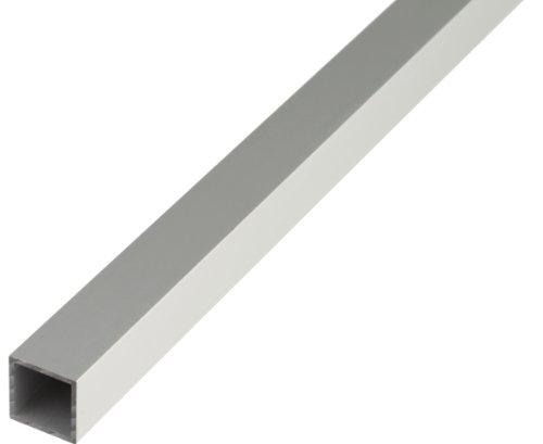 GAH-Alberts 471682 Vierkantrohr - Aluminium, silberfarbig eloxiert, 1000 x 50 x 50 mm