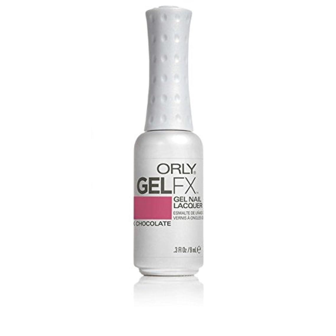 ローブ改善する著者ORLY(オーリー)ジェルFXジェルネイルラッカー 9ml ピンクチョコレート#30416