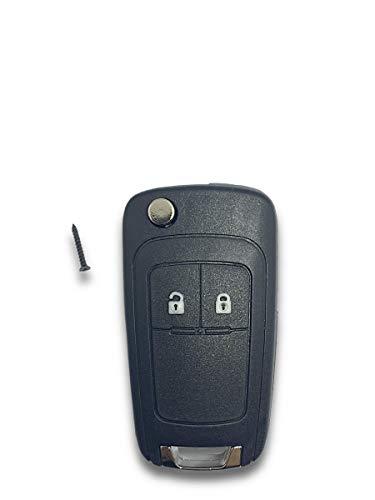 Shoppy Lab Scocca Guscio E Chiave Telecomando 2 Tasti Compatibile Per Auto Opel Astra J Vectra Insignia Vauxhall Key Shell