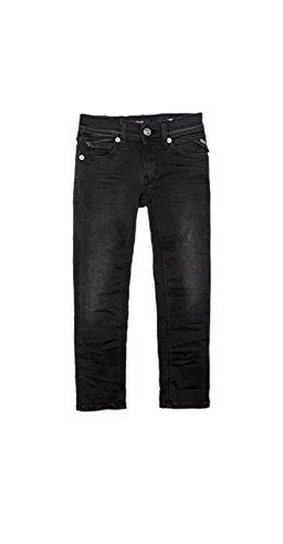 Replay Jungen Jeanshose schwarz schwarz, schwarz
