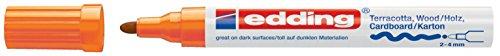 edding Mattlack-Marker edding 4000 creative, 2-4 mm, orange