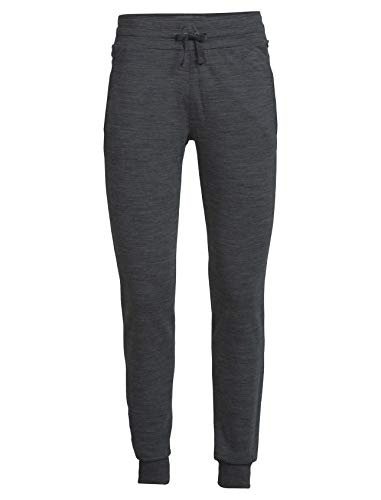 Icebreaker Merino Damen Crush Pants sportliche Hosen, Jet Hthr, Large
