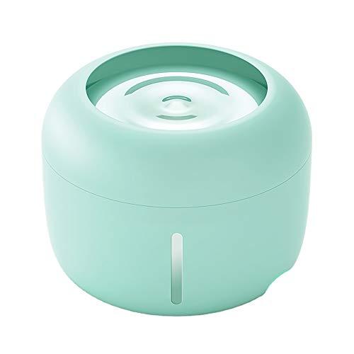 Fuente de agua dispensador automático para mascotas, para gatos y perros, fuente de agua para mascotas, 2,5 L (agua)