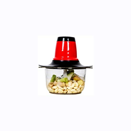 Picadora de Carne Cocina Mini-Food Chopper - Procesador eléctrico alimento, Vegetal Cortador...