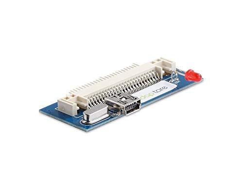 adaptare 46128 USB-Adapter (4,6 cm (1,8 Zoll) IDE-Festplatte ZIF auf Mini-USB Typ-B Kupplung, 50-polig)