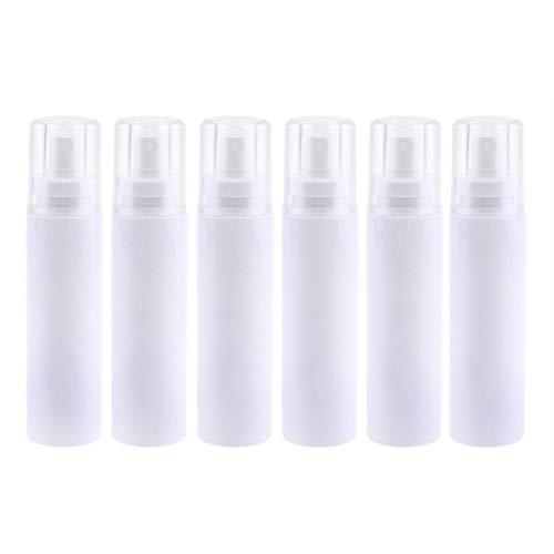 Homyl 6pcs Flacon Vaporisateur Vide Bouteille Atomiseur de Poche Spray Plastique pour Voyage Outil de Maquillage - 120 ML