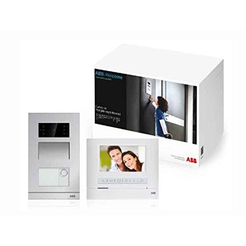 """Abb WLK312B - Kit de videoportero (pantalla de 4,3"""", 16:9, manos libres, 2 cables, monofamiliar)"""