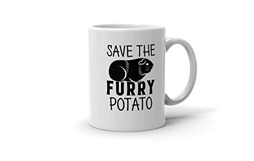 N\A aza Divertido Disfraz de Conejillo de Indias Save The Furry Potato Regalo para Hombres Mujeres 200417 Multi tamaño/Color - A3R0Pit0O3Cdg4