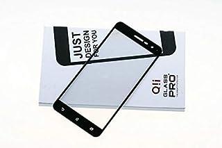 سايز OO - واقيات شاشة الهاتف - لهاتف Asus Zenfone 3 ZE520KL 5.2 بوصة 2.5D 9H واقي شاشة من الزجاج المقوى بغطاء كامل لهاتف A...